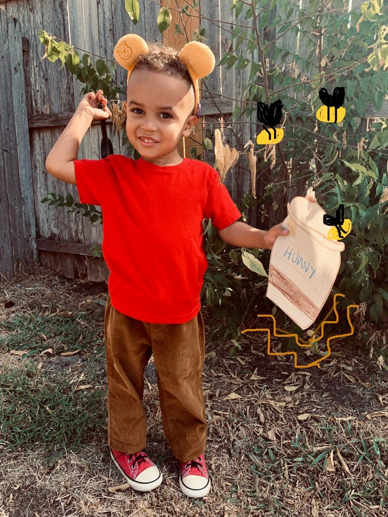 Winnie The Pooh - toddler Halloween costumes