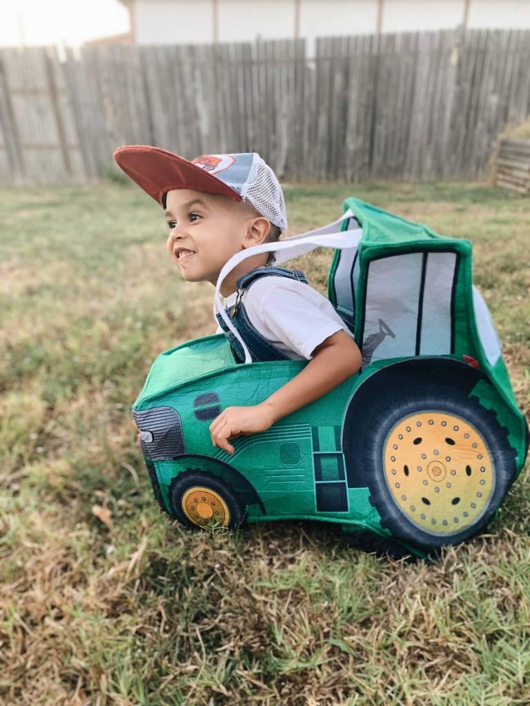 kids tractor costume