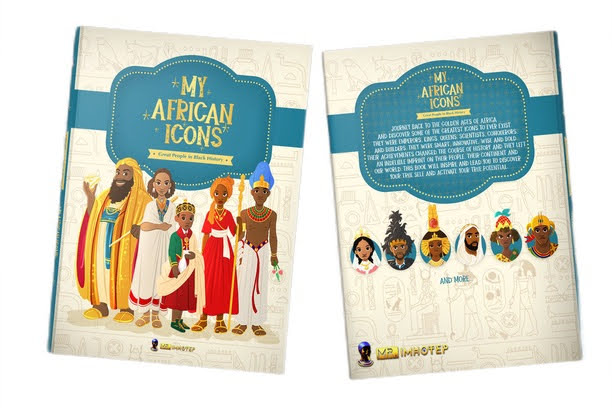 My African Icons book - homeschool library