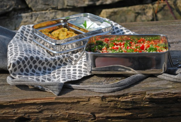 Veganes Taboulé Rezept, Picknick vegan, EcoBrotbox, EcoBrotbox Erfahrungen, Zero Waste Picknick, Picknickideen vegan