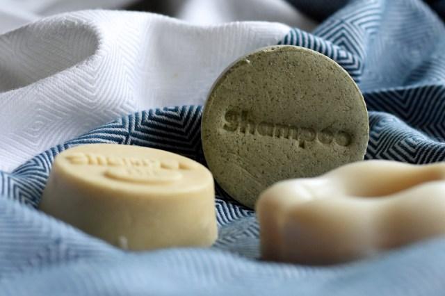 Brennessel Shampoo-Stein, Natural Pure Soilds, festes Shampoo, Shampoobar, Shampoostein