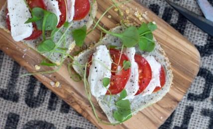 Tomate Mozzarella vegan, Mozzarella vegan Rezept, Mozzarella vegan selber machen