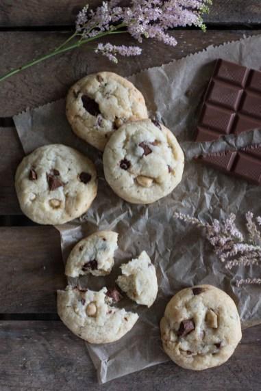 Chocolate Chip Cookies ohne Ei, Cookies backen ohne Ei
