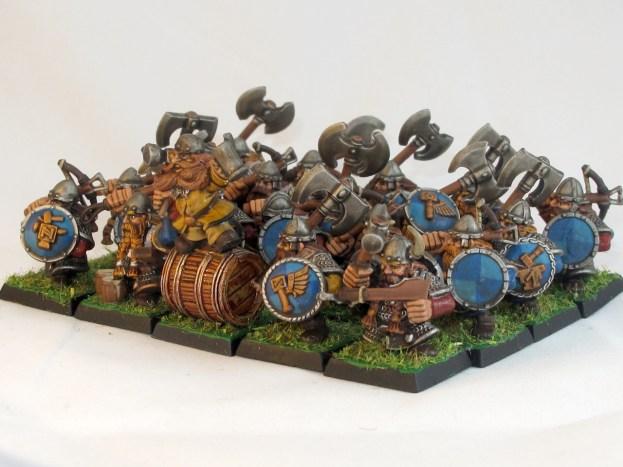 The full regiment, 20 strong