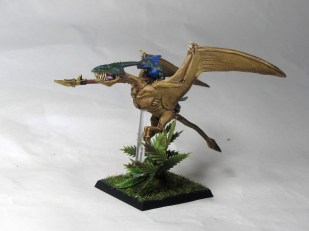 Terradon and rider