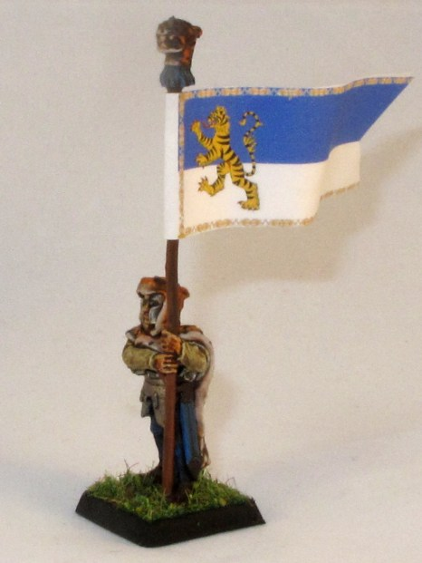 I've knocked up a quick banner for this unit to get i on the table, I'll probably do something nicer later.