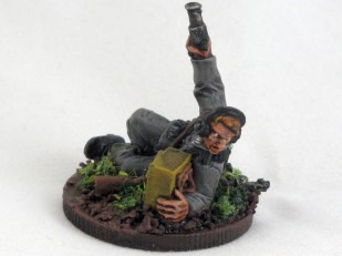 Forward Observer. In CoC he'll be brining down the 8cm mortars.
