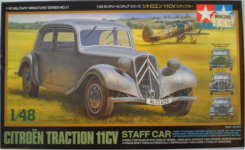 The Tamiya kit this was built from