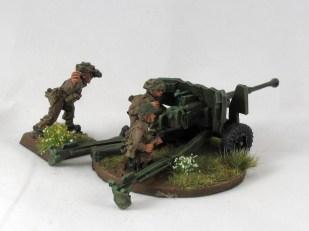 A 6pdr AT gun