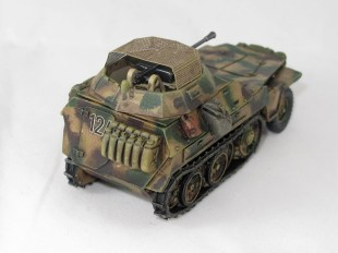 I added a removable turret to my SdKfz 250...