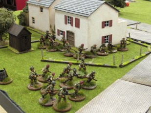 Kampfgruppe Krafft turned out to be no match for the mighty British Paras.