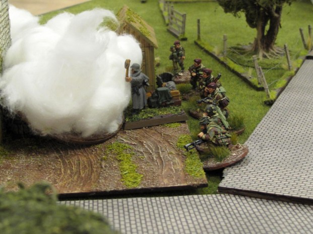 The Paras on top of the objective, the route into Arnhem has been secured!