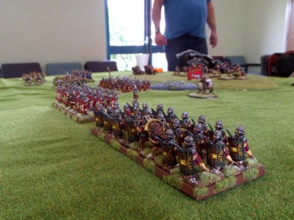 Tony's lovely looking Imperial Roman army