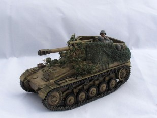 Got this Wespe as a proxy for the SP howitzer in Kampfgruppe von Luck.