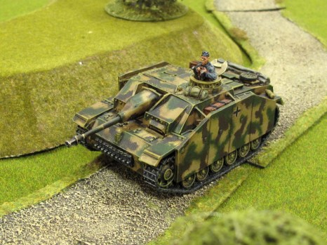 My StuG looking for trouble in a non-campaign game