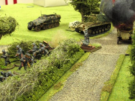 The panzergrenadiers kept the pressure on in Game 2 of the KvL D-Day campaign