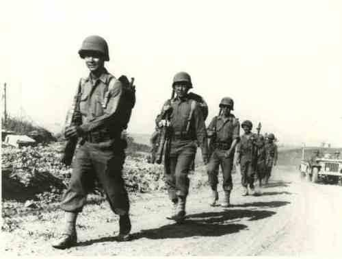 Japanese American infantry