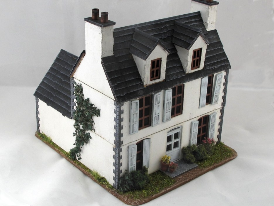 Finally finished up the farmhouse I'd been using all year