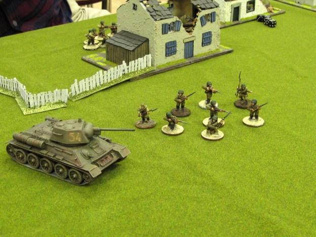 Russians advancing