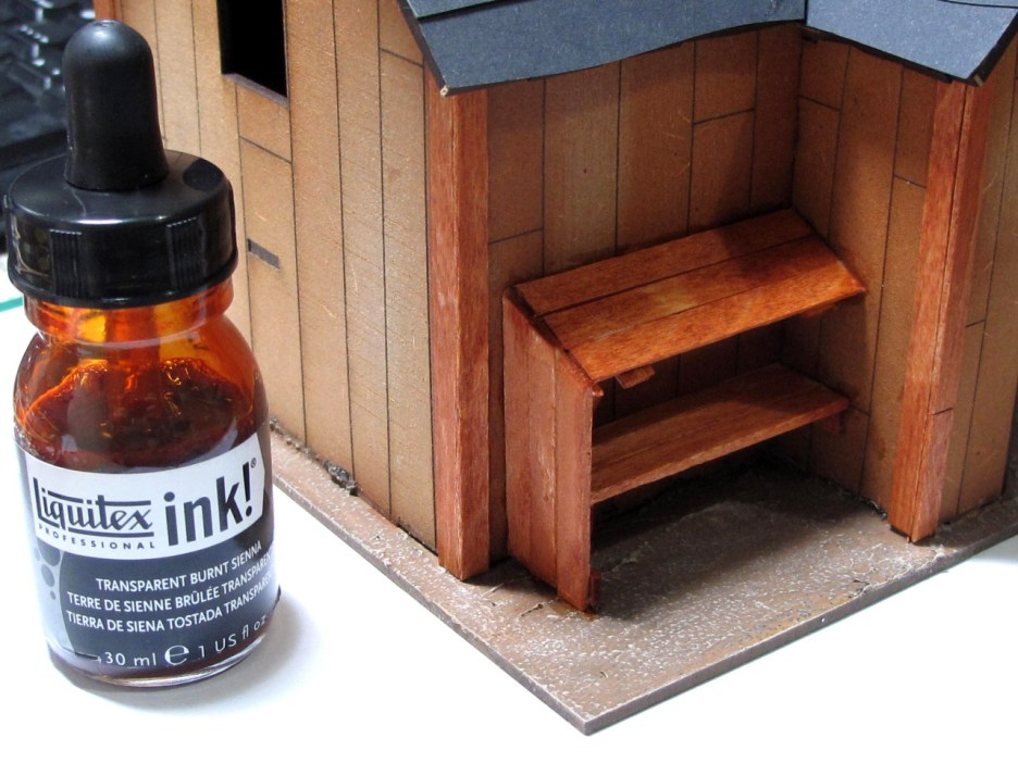 This is the ink wash. On the stirrers it brings the grain straight out.