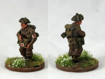 A medic made from parts off the plastic sprue