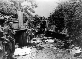 The Poles were instrumental in closing the Falaise Pocket that finally brought a decisive victory in the Normandy campaign