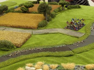 Lee's archers defend a ford