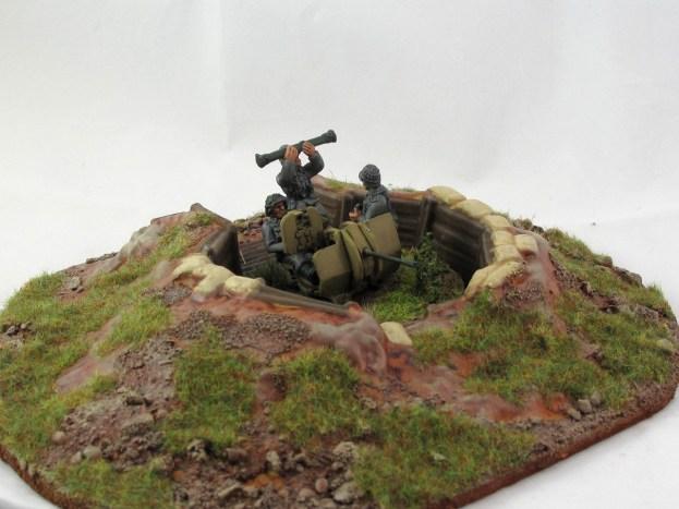 Flak 38 Dug In