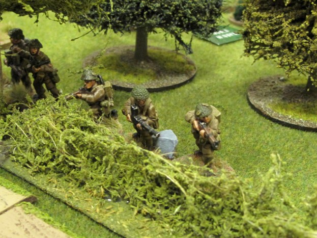 British infantry with a PIAT try to take out the panzer...