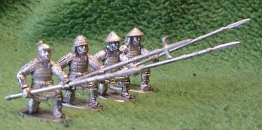 Ashigaru with spears