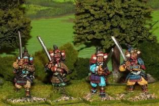 Genpei era samurai