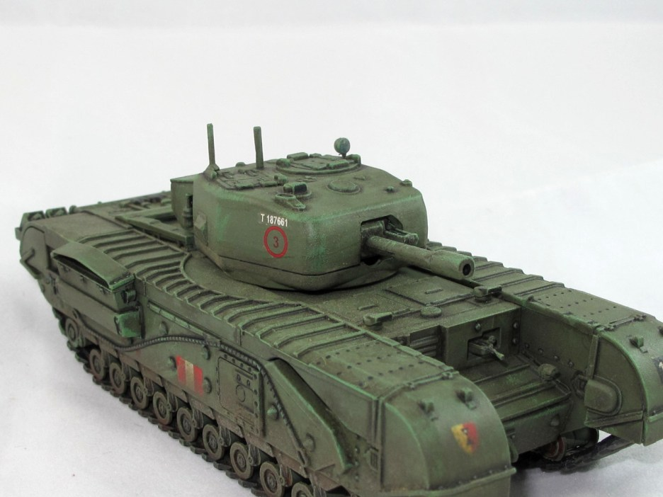 Churchill CS with 95mm howitzer