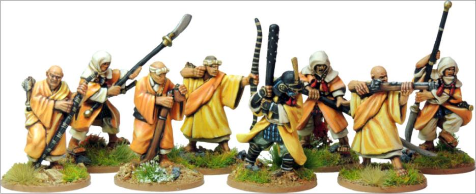 Warrior monks