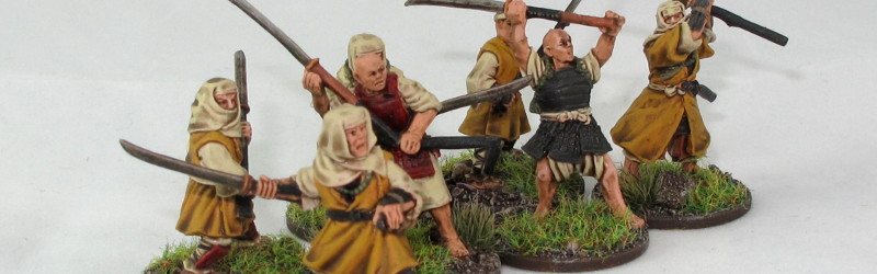 Ronin Warband: Sohei Warrior Monks
