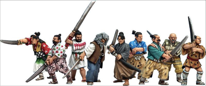 28mm Samurai miniatures review