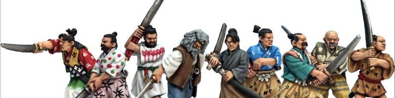 28mm Samurai miniatures review | Tiny Hordes
