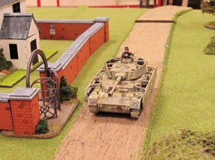 The Panzer IV leads the way!
