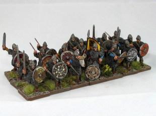 Breton Milites (dismounted cavalry)