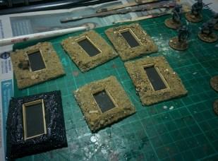 3. Adding a bit of sand