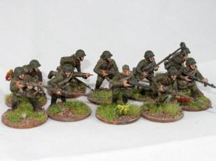 A Soviet rifle squad