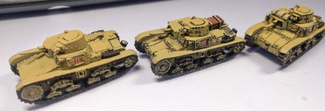 With a black ink pinwash they come to life. I would play with them like this but wanted to polish them a little more