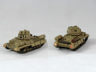 British A10 Cruiser plain sand