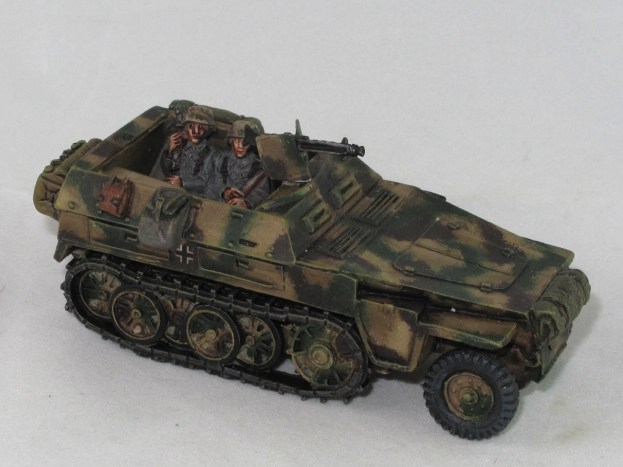 A resin Warlord 250. Looking loads better with some bodies on board