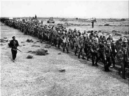 Defeat in North Africa had seen large numbers of German troops march into captivity and the Allies firmly holding the initiative for the first time