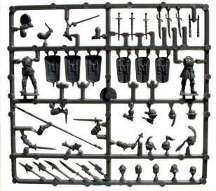 The smaller command sprue. Two in the box.