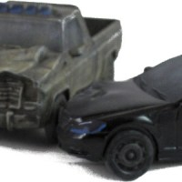 Mantic wrecked vehicles