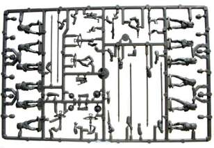 The main sprue, three included in the box