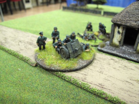 With the Soviets located, the Germans bring up their heavy weapon
