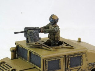Humvee Gunner