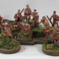 French and Indian War frontier raiders